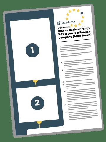 Illustration of How to register for UK VAT