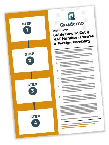 Illustration of How To Get A VAT Number If Your Company Isn't Based in the EU